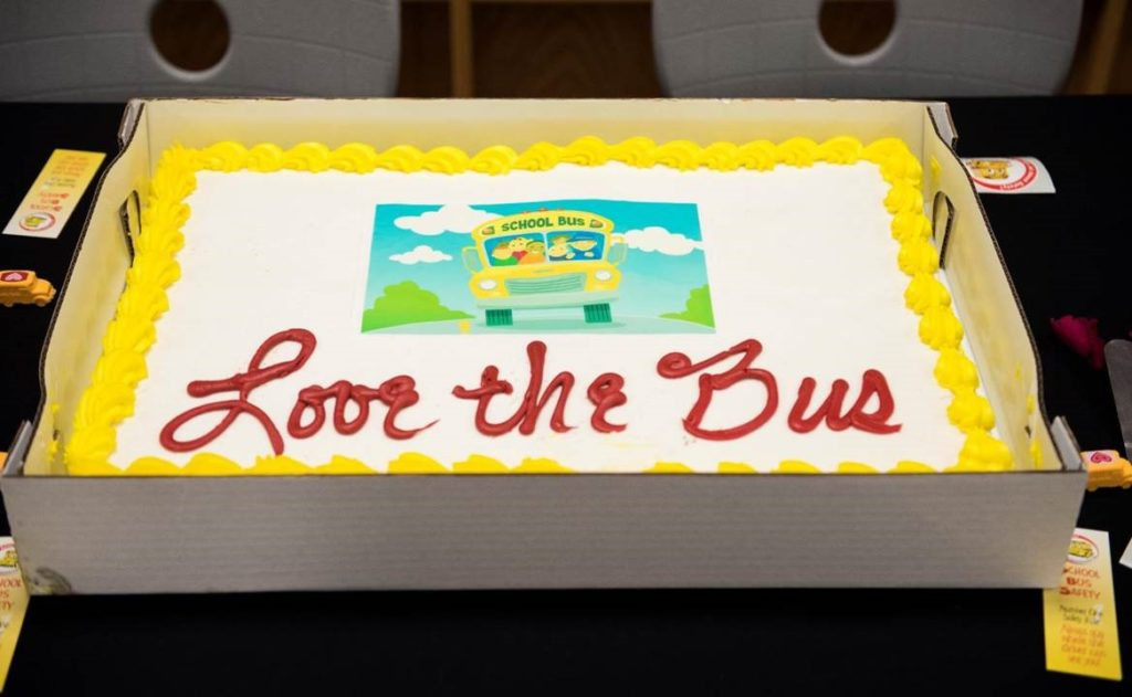 Love the Bus cake