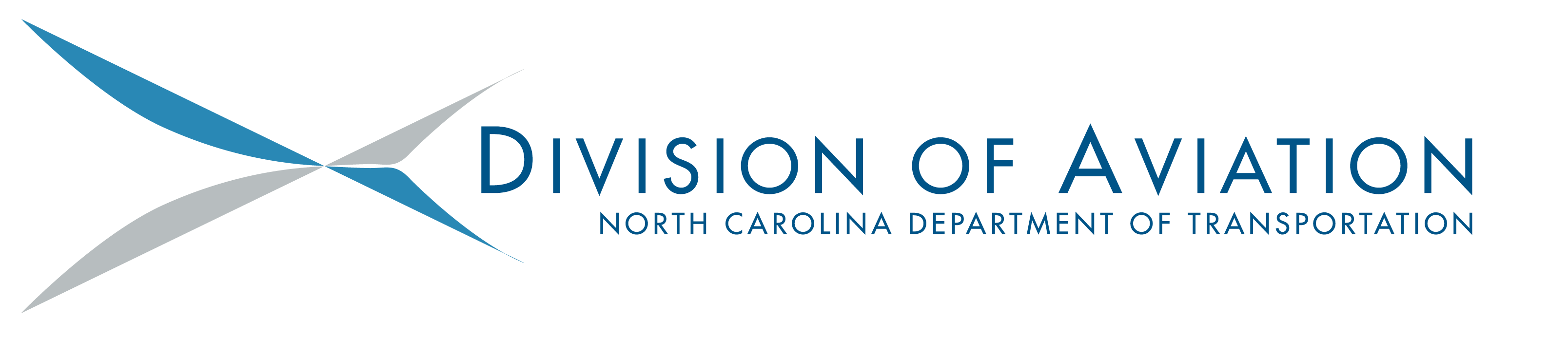 NCDOT Department of Aviation logo in color