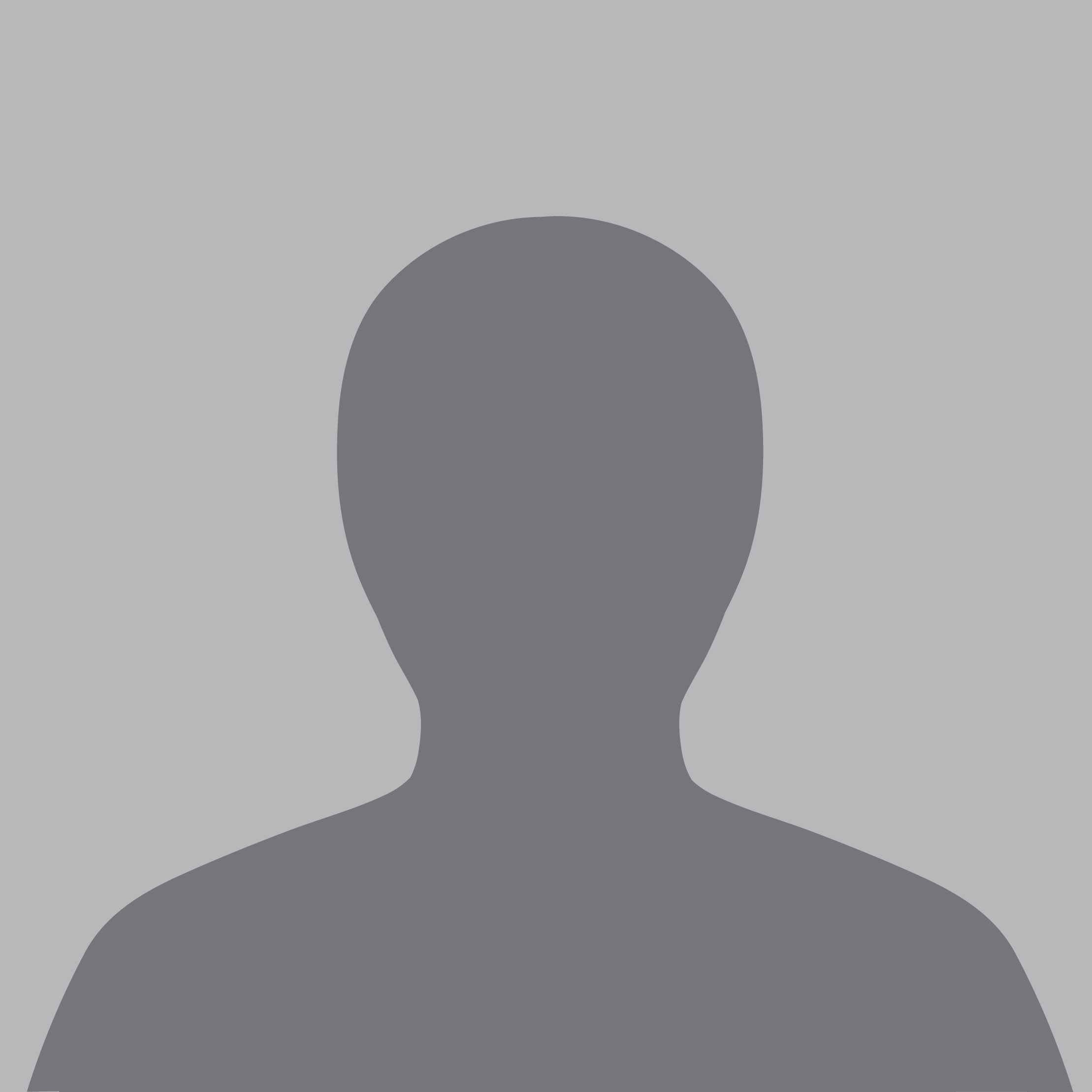 Grey silhouette of a person from the chest up, used as a placeholder when no staff headshot is available