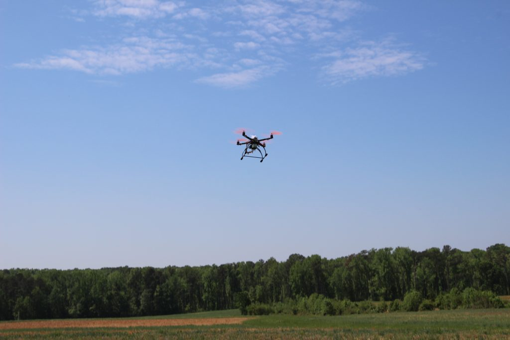 ITRE in the News: Law enforcement officials look to drones as way to improve public safety