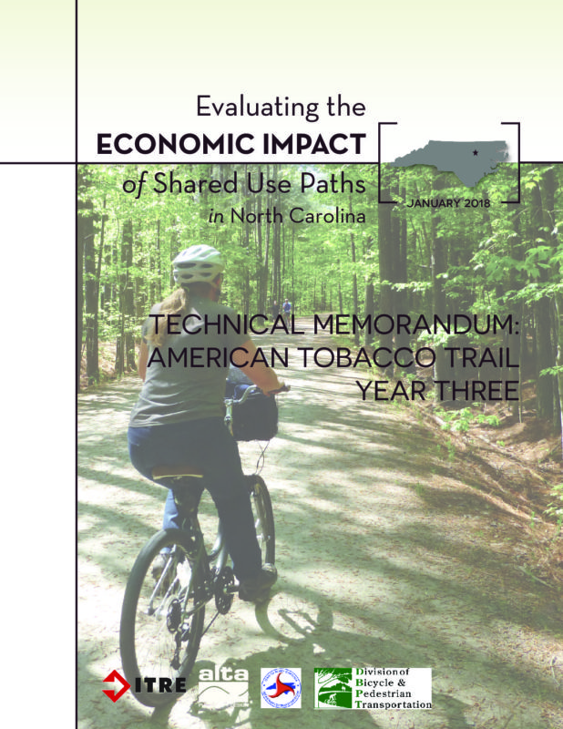 Economic Impact of Shared Use Paths: American Tobacco Trail Year 3 Report