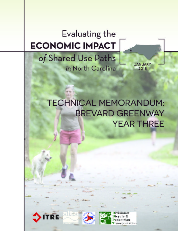 Economic Impact of Shared Use Paths: Brevard Year 3 Report