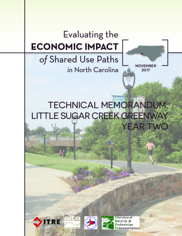 Economic Impact of Shared Use Paths: Little Sugar Creek Year 2 Report